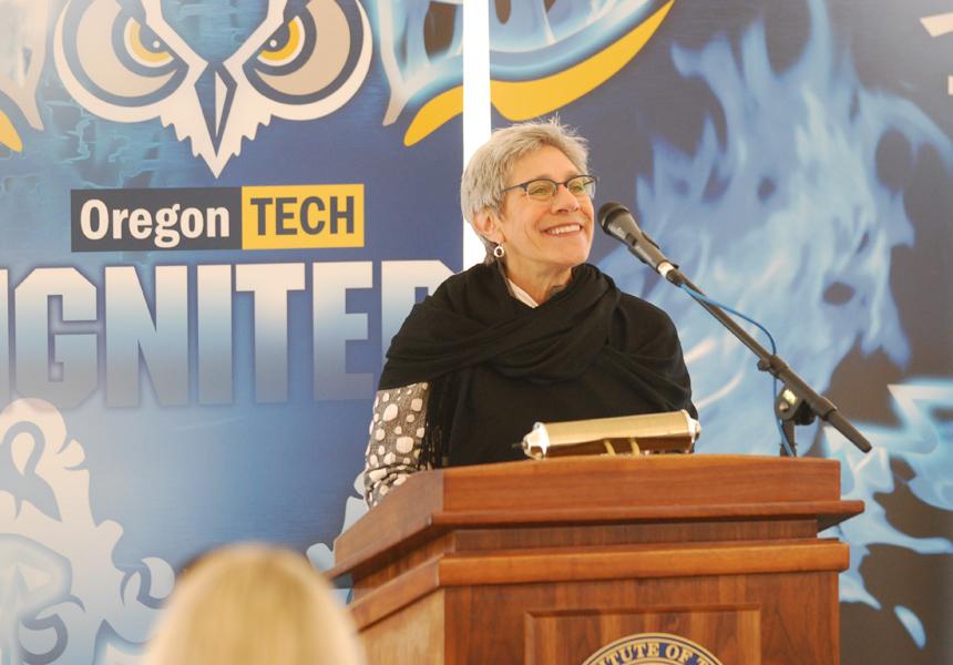 Margie speaking