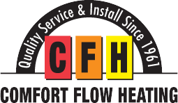 comfort flow heating logo