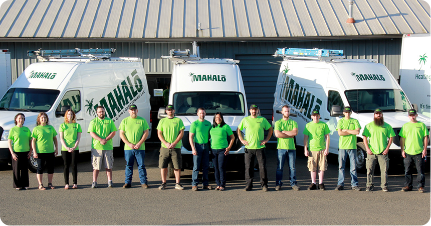 Trade ally of the month: Mahalo Heating and Air Conditioning in Roseburg - Energy Trust BlogEnergy Trust Blog