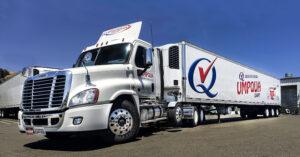 a new umpqua dairy semi-truck