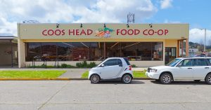 exterior view of coos head food co-op
