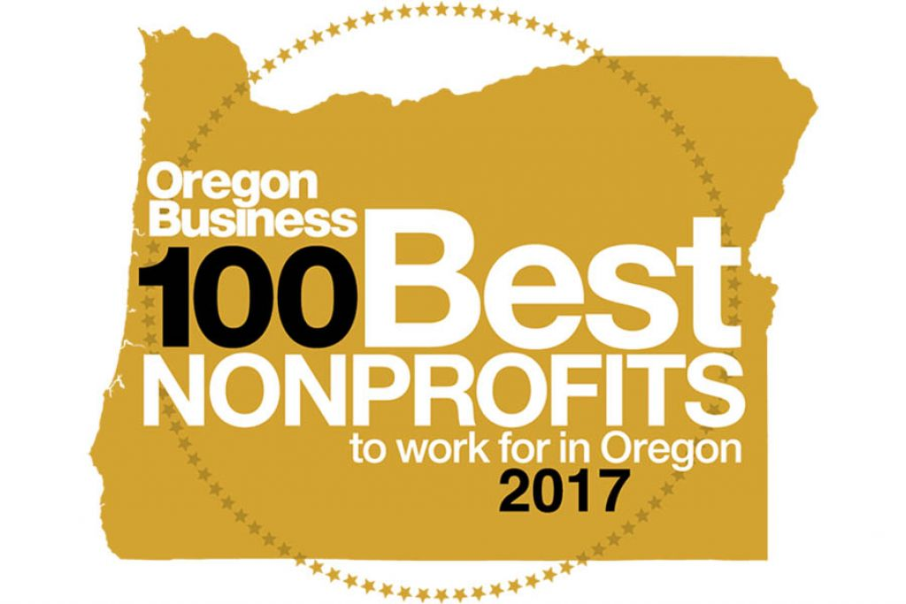 100 best non-profits logo for 2017