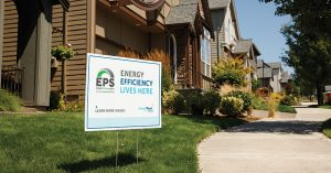A New Home with EPS yardsign