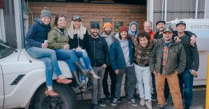 The team at Deschutes Growery