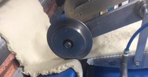 a mechanical dough cutter