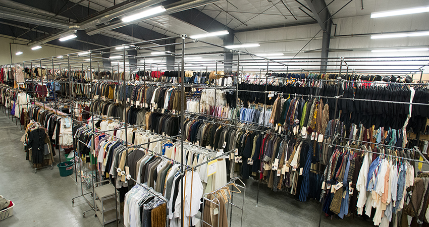 The Oregon Shakespeare Festival. Costume Rentals in the new production building.