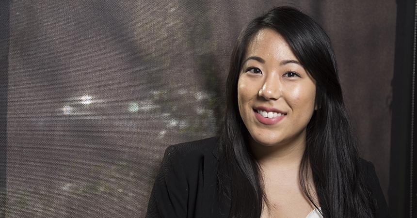 a picture of Lindsay Naganuma smiling at the camera