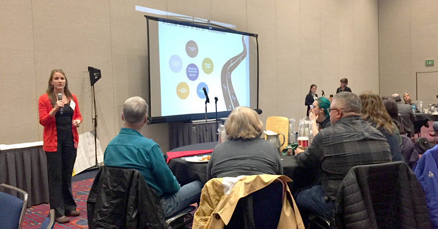 Energy coach Wendy Gibson speaks about SEM and engaged SEM participants.
