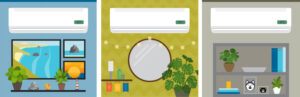 ductless heat pump graphic