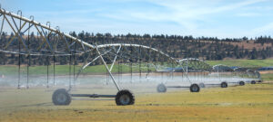 an agricultural sprinkler system