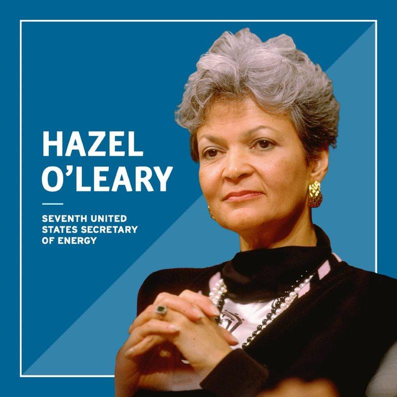 Headshot of Hazel O'Leary