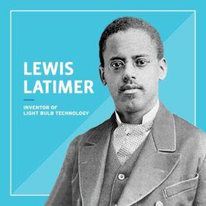 Headshot of Lewis Latimer