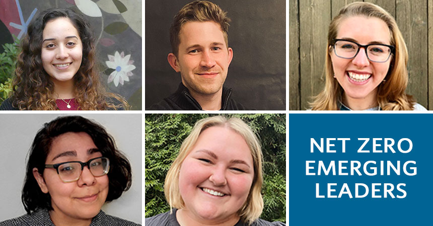 headshots of net zero emerging leaders
