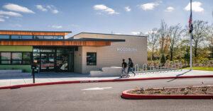 an elementary school entrance