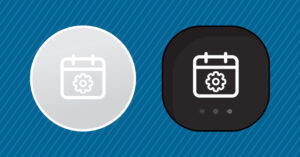 a graphic of smart thermostats